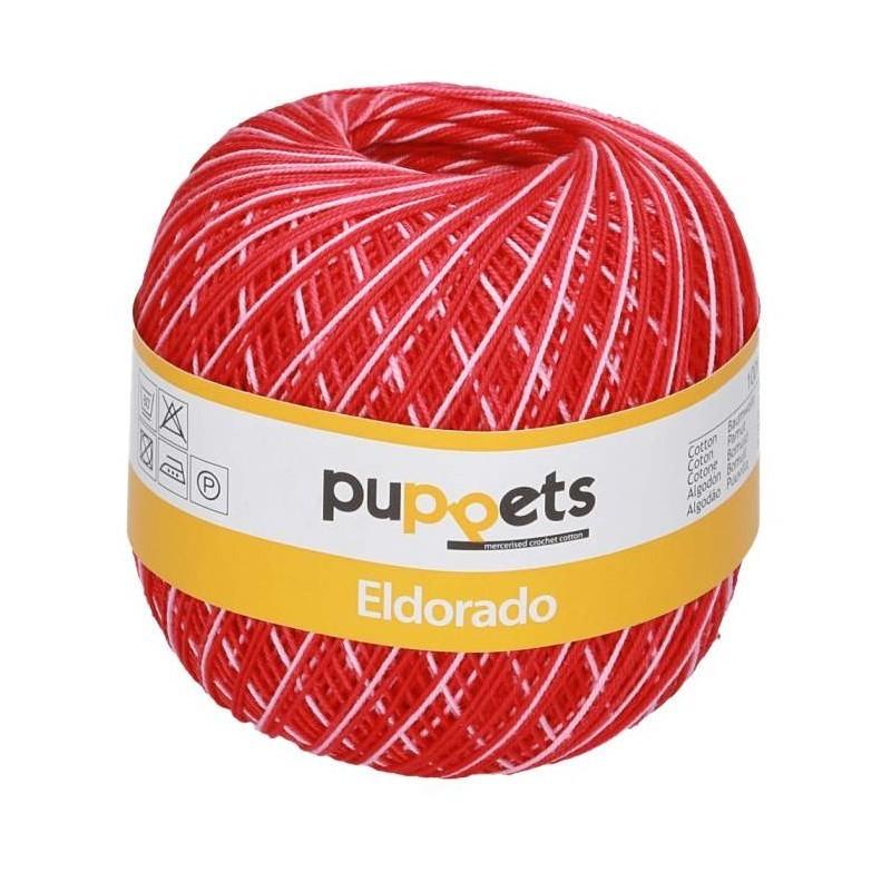 50g Puppets Eldorado multicolor - Häkelgarn Stärke 10 - Jules ...